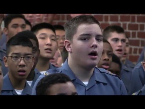 Song Service at Fork Union Military Academy