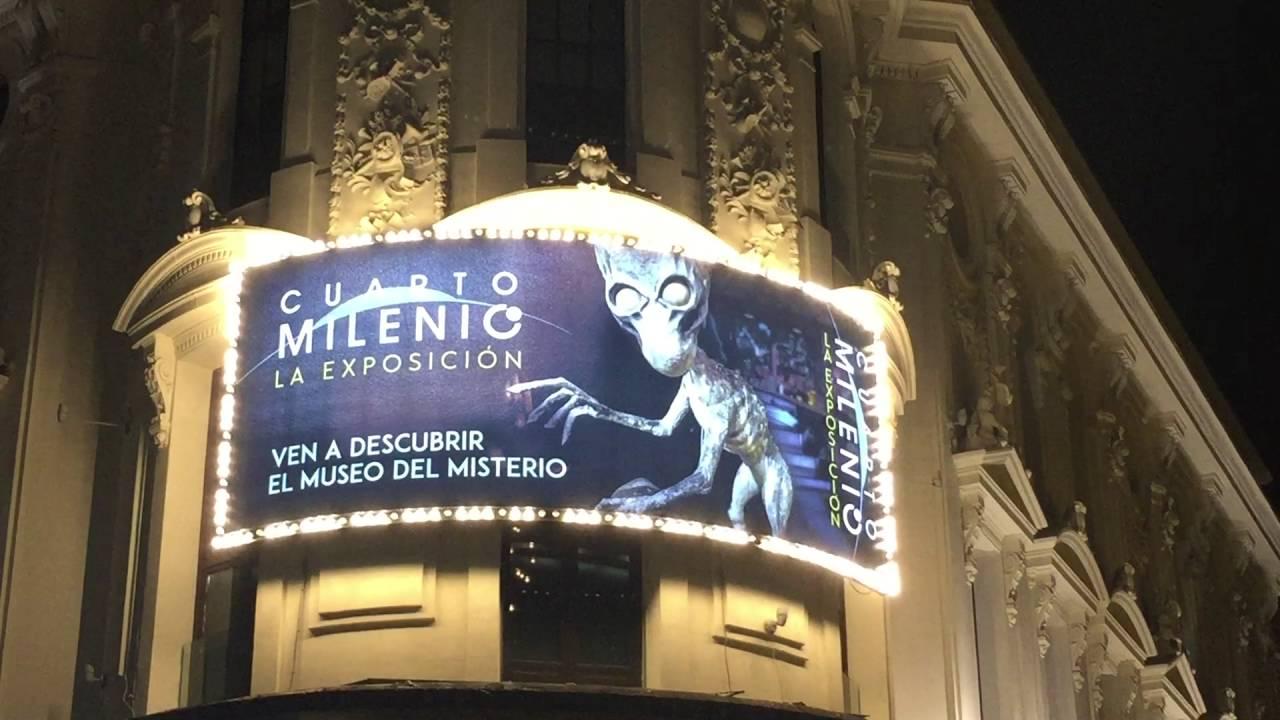 as luce la exposici n de cuarto milenio en el teatro