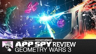 Geometry Wars 3: Dimensions iOS iPhone / iPad Gameplay Review