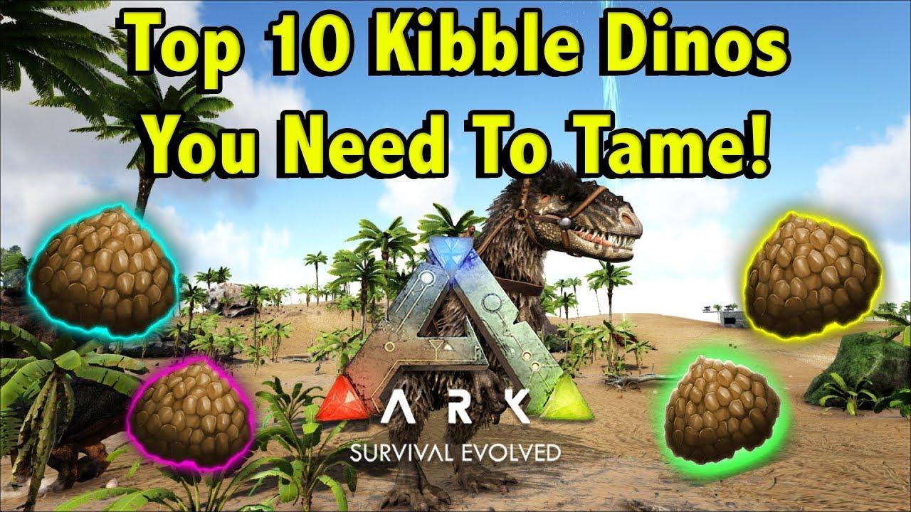 best kibble dinos ark