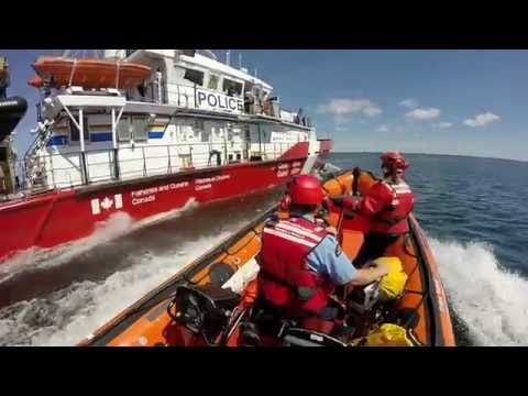 Canadian Coast Guard Inshore Rescue Boat 2016