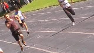 Біг 100 м.юнаки