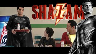 Henry Cavill as BLACK SUIT Superman in Shazam Ending Cameo | Zack Snyder's Justice League Canon! 😱