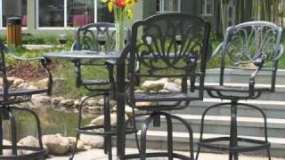 New 2010 Cast Aluminum Patio Furniture Collections