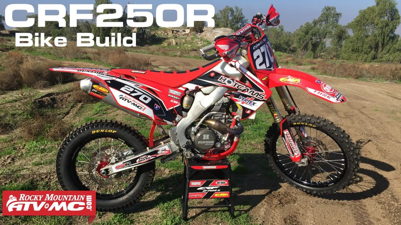 2010 Honda CRF250R Trail Bike Build - YouTube
