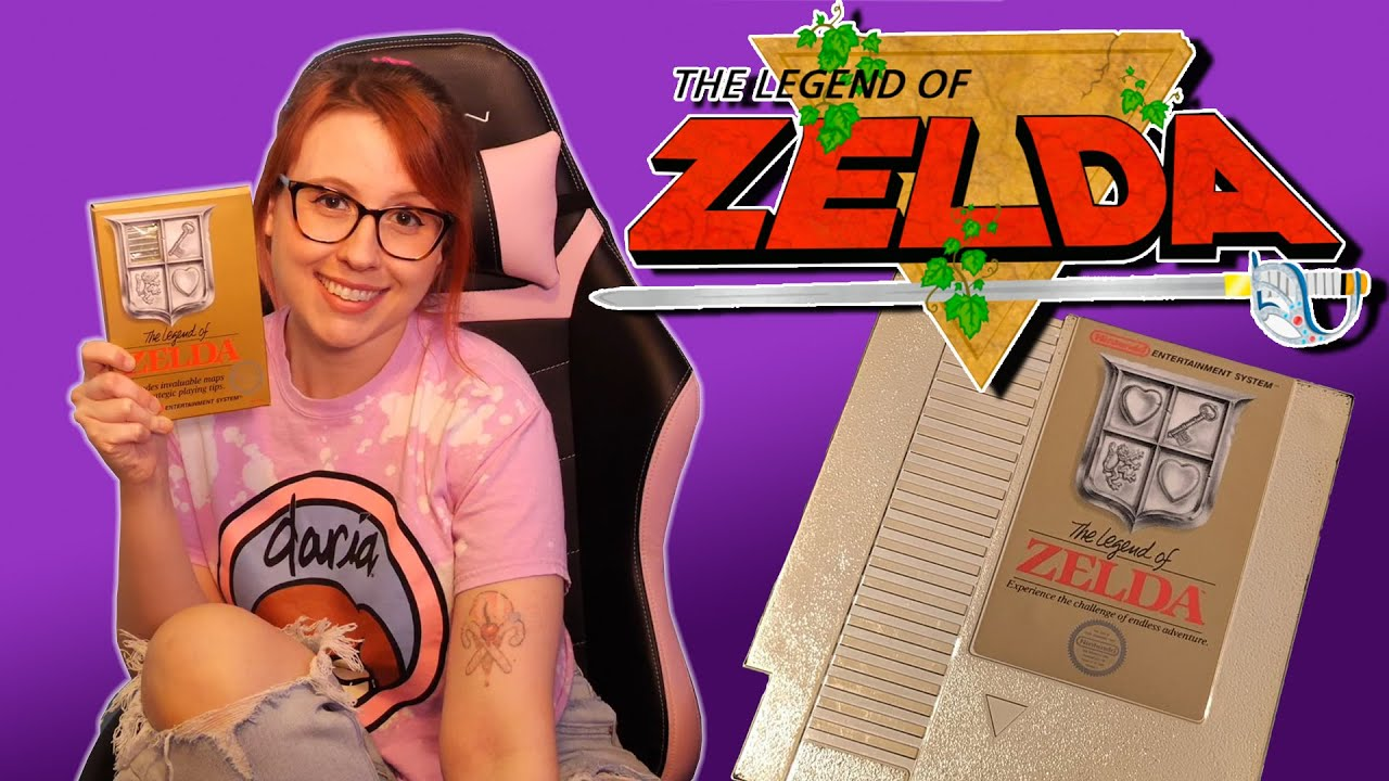 The Legend of Zelda (NES) – Erin Plays