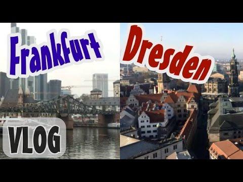 Deutschland Travel VLOG    Dresden & Frankfurt am Main