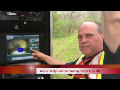 Jones Utility Service Finding Sewer Line DC