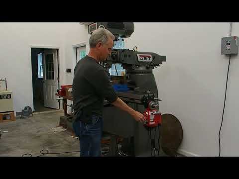 JET JTM-4VS-1 Vertical Milling Machine - X-Axis Autofeed