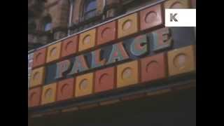 1960s Great Yarmouth Shops and Cafes, Colour Home Movies, Summer Holiday