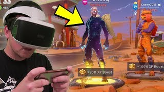 FORTNITE Mobile GALAXY SKIN HYPE - WHO CAN STAY THE LONGEST? (Android/iOS/Switch)