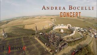 Andrea Bocelli Teatro del silenzio concert in Lajatico