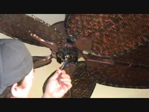 How To Repair A Ceiling Fan Stuck On Medium Speed Part 6