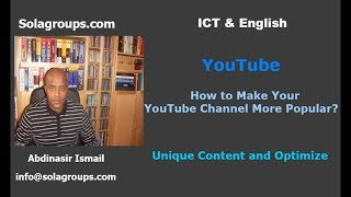 How to Make Your YouTube Channel More Popular?
