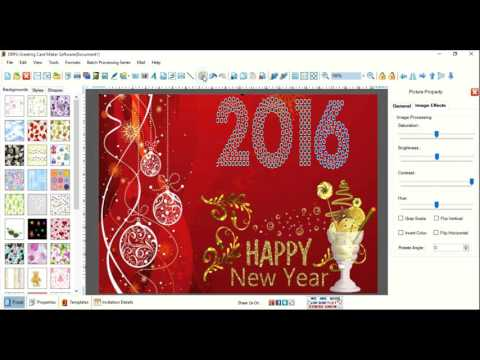 How To Design Greeting Cards Using Drpu Greeting Card Maker Application