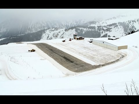 A flight into Couchervel, a 500m runway at 7,000ft on the side of a mountain