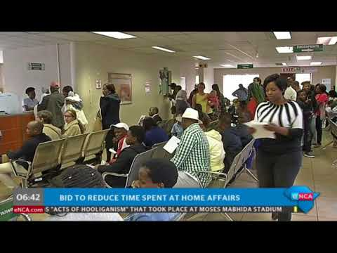 Sick of long home affairs queues?