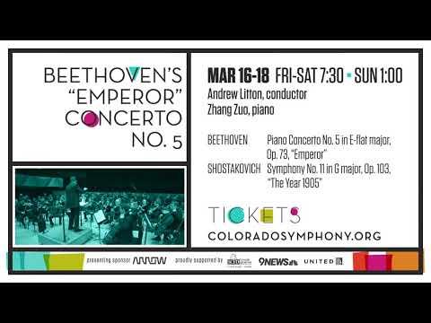 """Beethoven's """"Emperor"""" Concerto No. 5"""