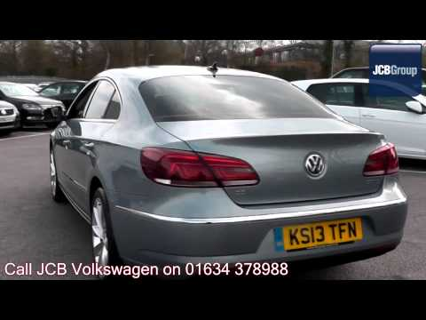 2013 Volkswagen CC BlueMotion Tech GT 2l Iron Grey Metallic KS13TFN for sale at JCB VW Medway