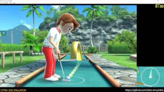 Citra 3DS Emulator - Fun! Fun! Minigolf TOUCH! ingame 1080p (f556d6e)