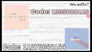 aesthetic Roblox Bloxburg Picture Codes