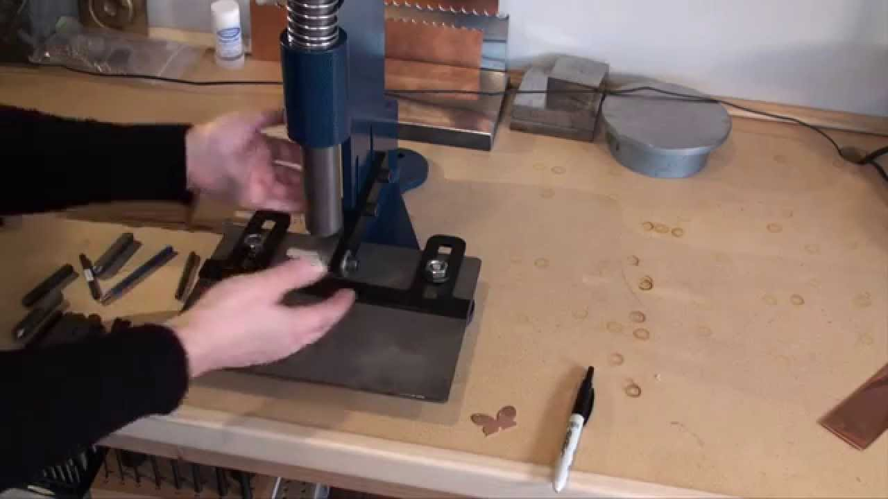 Tool Time Tuesday - Potter USA Stamping Tool Review - YouTube