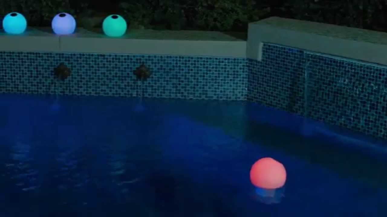 Solar Color Changing Globe Chlorinator Youtube