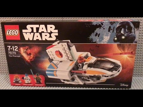 Lego Star Wars Rebels 75170 The Phantom 2 REVIEW Admiral Thrawn & Blinded Kanan