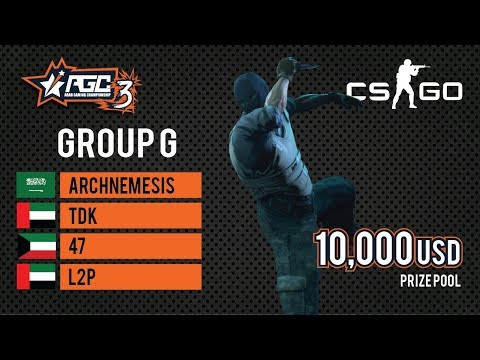 Group G- GCC | AGC 3 CS:GO [EN]
