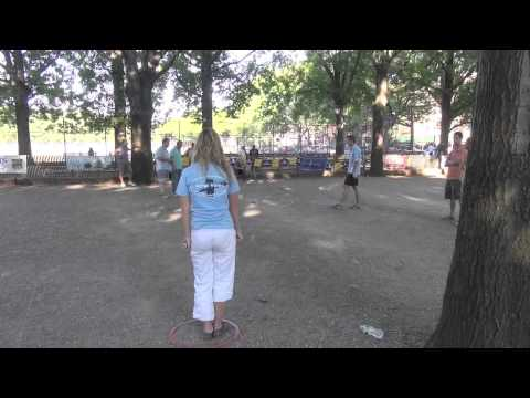 SemiFinals w/ Dylan & Lucy vs  Xavier & Phillipe, Prospect Park, NY 2013