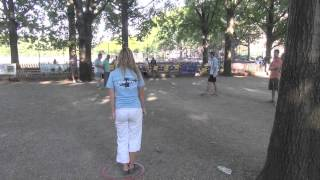 Repeat youtube video SemiFinals w/ Dylan & Lucy vs  Xavier & Phillipe, Prospect Park, NY 2013