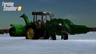 WE GOT SNOW AGAIN! (LIVE STREAM) FARMING SIMULATOR 19