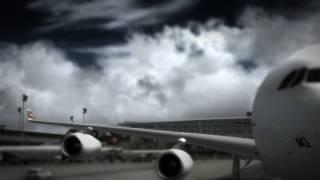 FS2004 - Swiss A340-313X Takeoff [HD]