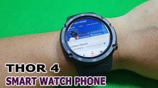 TEST and Review Zeblaze Thor 4 4G Smart Watch Phone