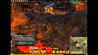 Guild Wars 2 - Wildflame Caverns Vista