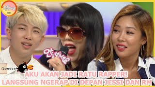 NGE-RAP Di Depan Jessi dan BTS RM Itu~ |Hello Counselor|SUB INDO| 150911 Siaran KBS WORLD TV|