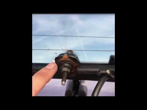 Mercury Mariner / Ford Escape rear glass hinge repair