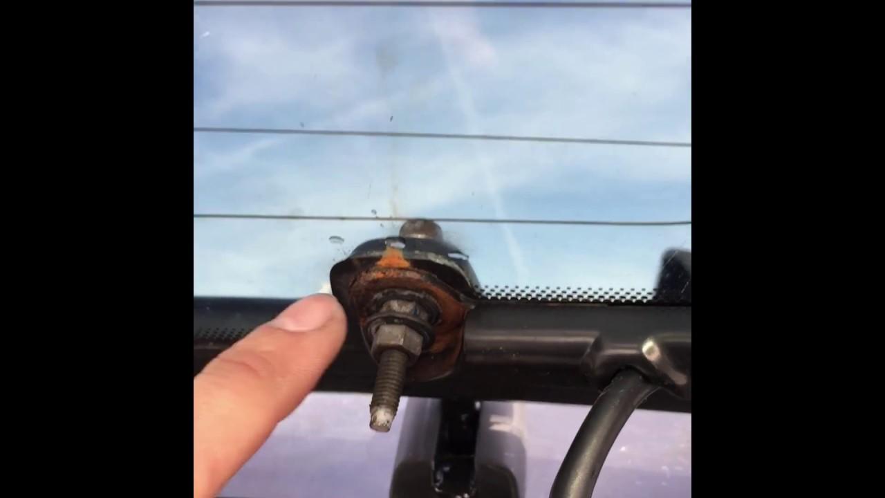 Mercury mariner ford escape rear glass hinge repair
