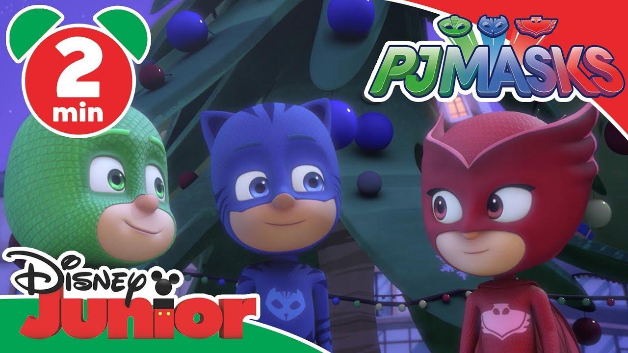 Pj Masks Christmas With The Pj Masks 🎄 Disney Junior