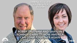 Robert Putnam and Shaylyn Romney Garrett: How America Can Come Together Again