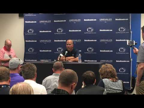 PSU HC James Franklin talks about stunning Iowa