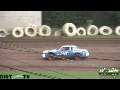 6 18 16 Street Stock Qualifying Wall Banger Cup Cottage Grove Speedway