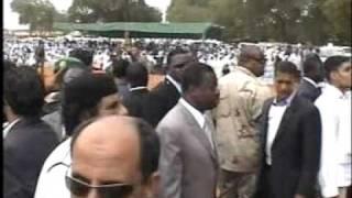 Visite de Mohammar El Kadhafi à Sokodé 2