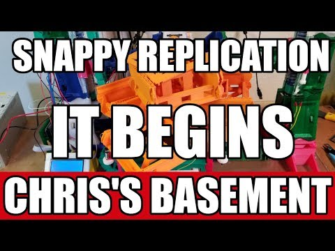 The Snappy 3 — Can It Self Replicate??? — Chris's Basement