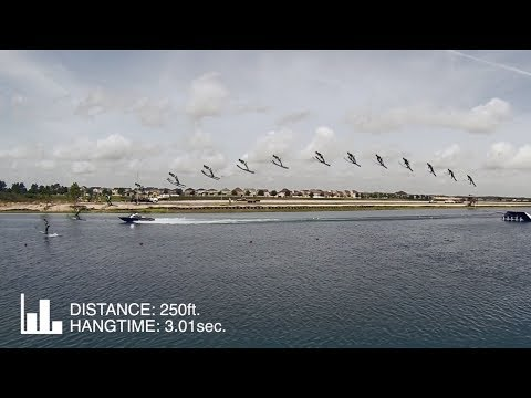 Freddy Krueger - Water Ski Jump Record - 250ft.