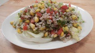 Barley Corn Salad | Sanjeev Kapoor Khazana