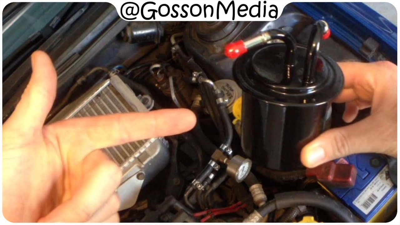 Replacing the Fuel Filter on a Subaru - MY99 WRX - YouTube | Wrx Fuel Filter |  | YouTube