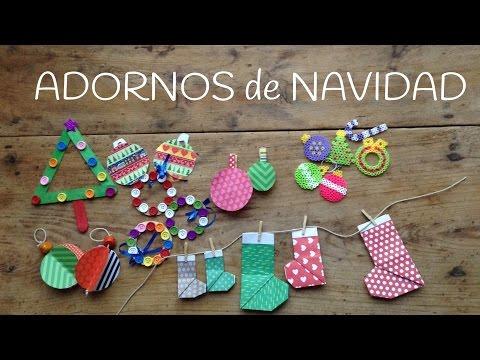 10 bonitos adornos navide os hechos en casa con los ni os - Adornos navidenos hechos en casa ...