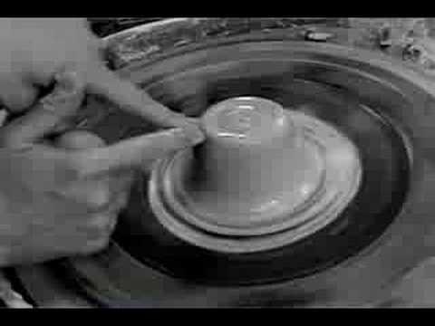 Clay Demo 4: Basic Wheel Throwing
