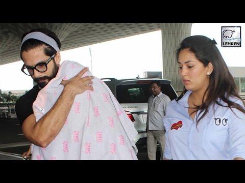 Shahid Kapoor SPOTTED With Misha & Mira Rajput | LehrenTV